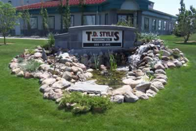 Head Office of T.D. Styles Trucking Ltd., overdimensional trucking specialists, based in Nisku, Alberta, Canada.